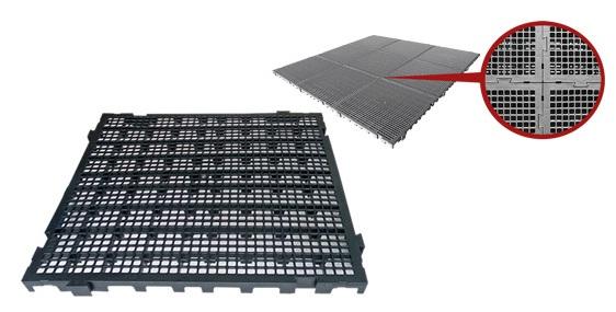 Estrados / Palete / Pallets Em Plástico 50 x 50 x 3 cm
