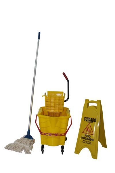 Kit carrinho funcional de Limpeza
