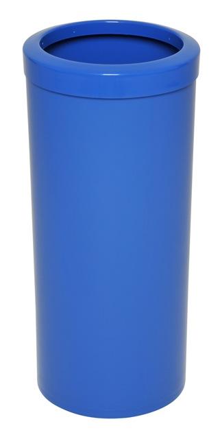 Lixeira com Aro toda em plástico 50 litros.