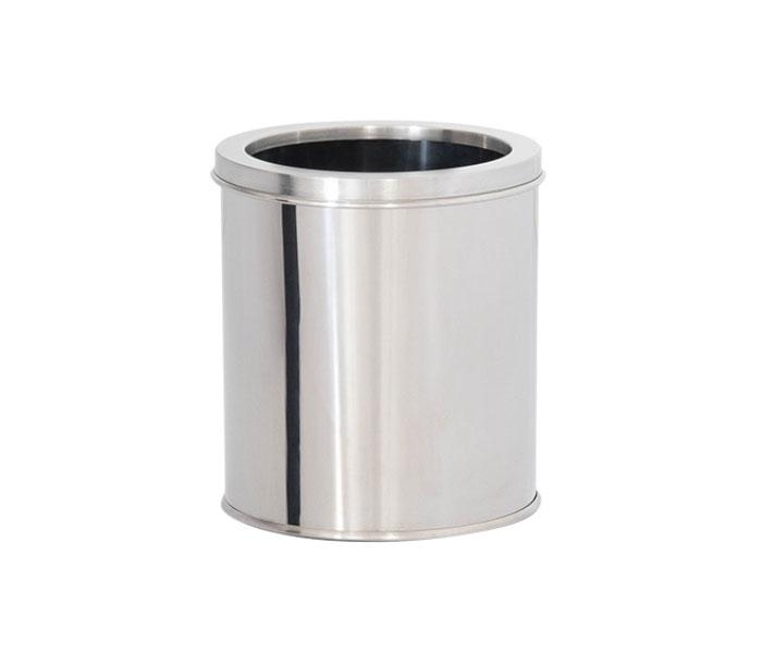 Lixeira em Aço Inox com Aro 7 Litros  - Reis Lixeiras