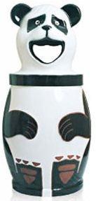 Lixeira em Fibra de Vidro Modelo Panda 120 Litros