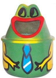 Lixeira em Fibra de Vidro Modelo Sapinho 25 Litros   - Reis Lixeiras