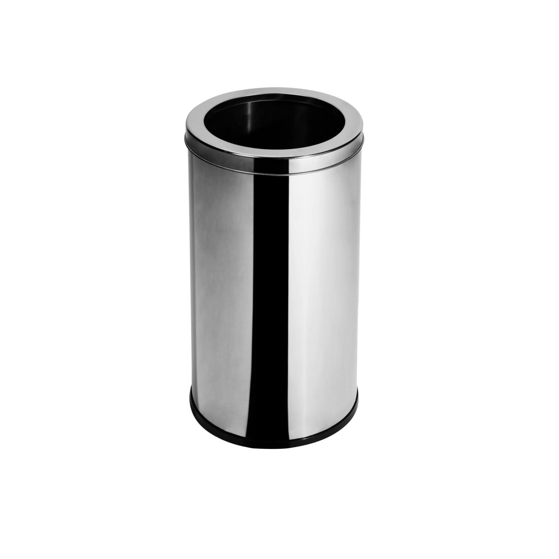 Lixeira Inox com Aro 10 Litros Elegance
