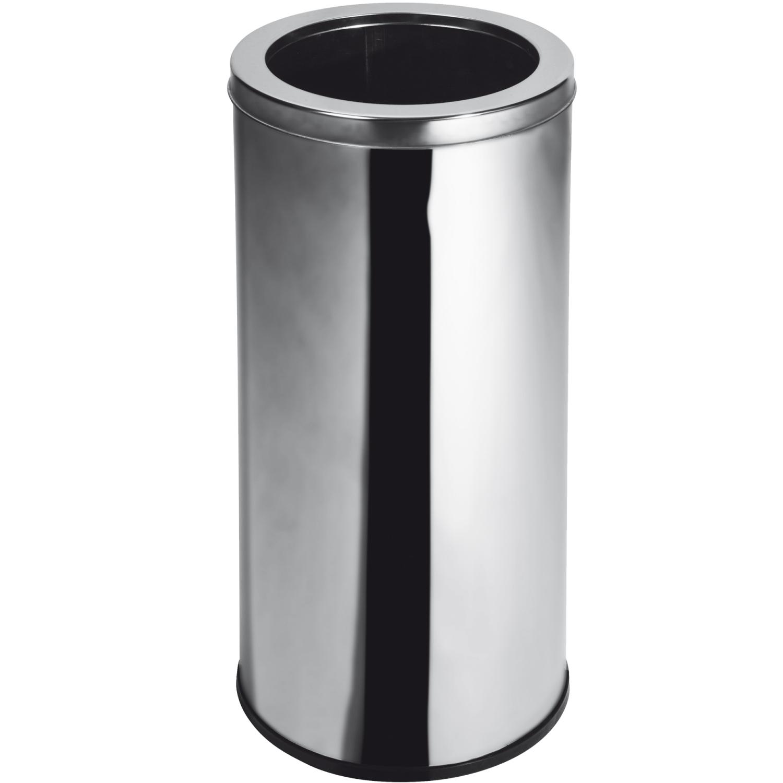 Lixeira Inox com Aro 50 Litros Elegance  - Reis Lixeiras