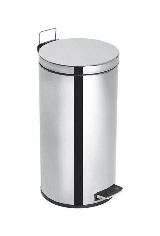 Lixeira Inox com Pedal e Balde Elegance - 15 litros