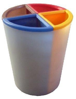 Lixeira Mix4 capacidade 50 litros   - Reis Lixeiras