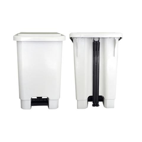 Lixeira plástica com pedal 50 Litros   - Reis Lixeiras