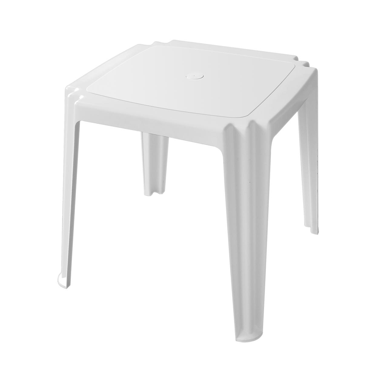 Mesa Monobloco para 4 lugares com os pés plásticos