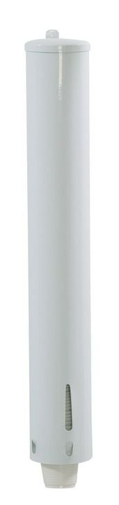 Porta Copo redondo em esmaltado para copo de Café (50L)  - Reis Lixeiras
