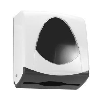 Suporte 2 ou 3 dobras injetado em plástico ABS com visor ABS cristal transparente  - Reis Lixeiras