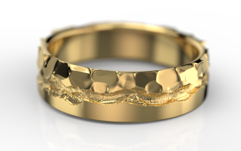 ANEL ABISM (OURO 18K)