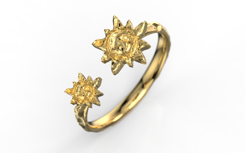 ANEL CONTELATION (OURO 18K)