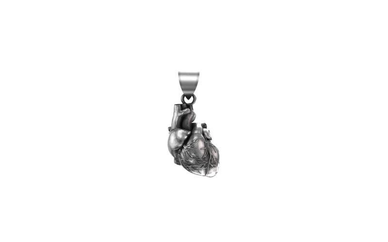 PINGENTE HEART (PRATA)