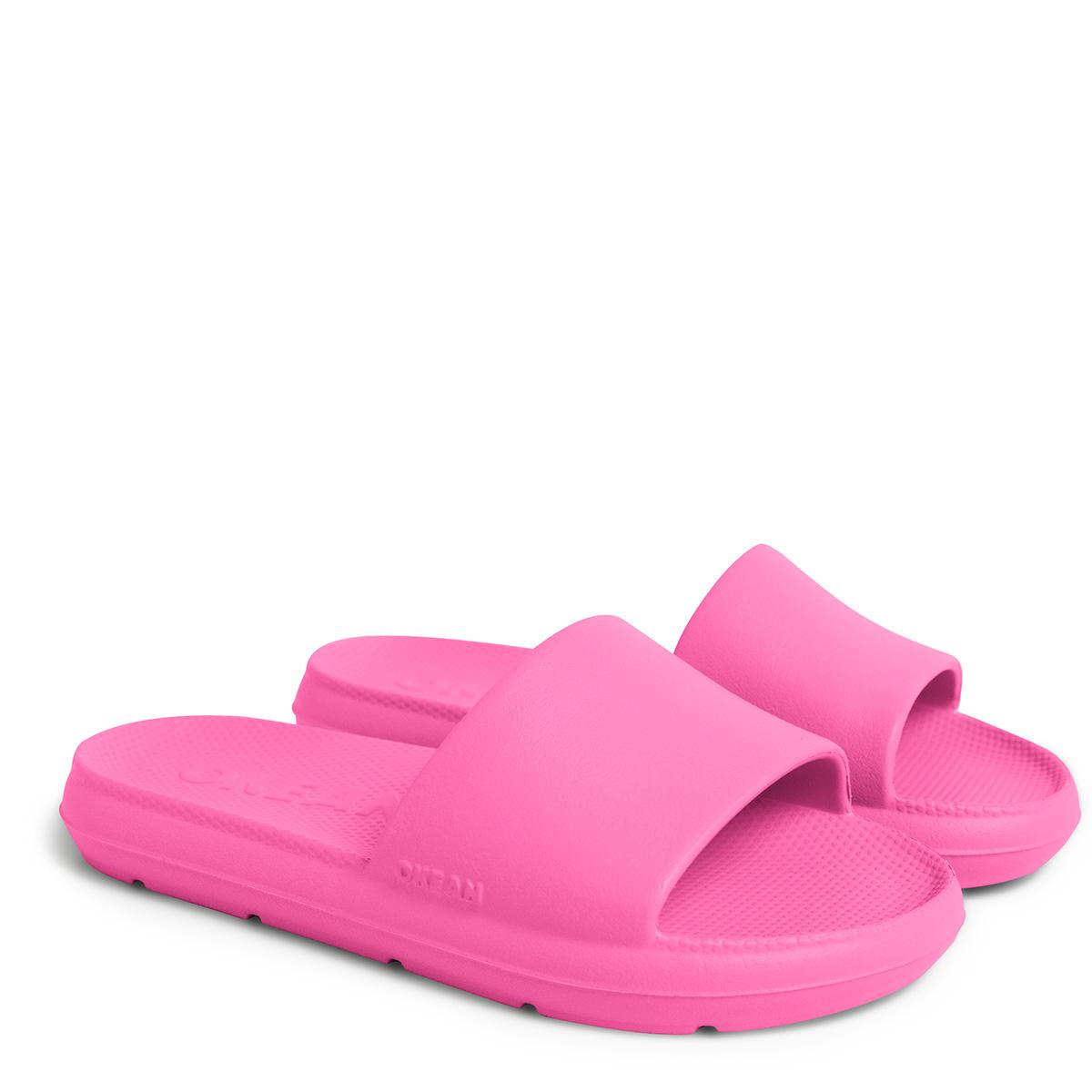Chinelo Slide Infantil Okean Rosa Pink K0008