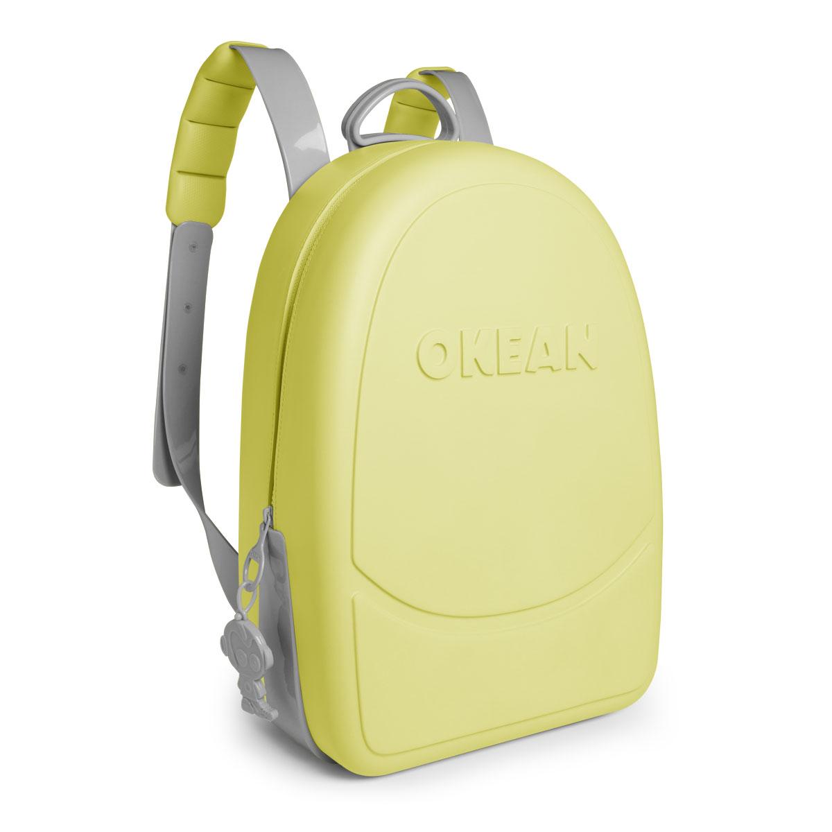 Mochila Okean Neon/Cinza Claro  K0001