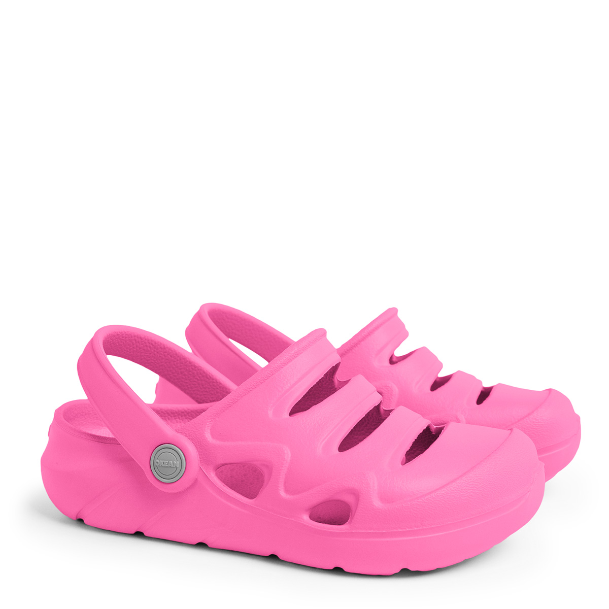 Sandália Clog Infantil Okean Rosa Pink K0002
