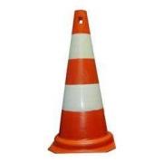 Cone Sinalizacao Laranja/Branco 50Cms (Vedal)