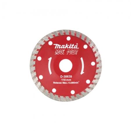 Disco Concavo Diamantado 110Mm Segmentado Makita Ref.d-30639