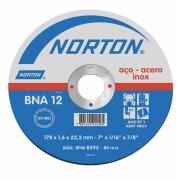Disco De Corte Bna Norton 7X1.6X7/8 (Cx.c/25Un)