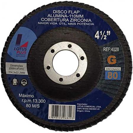Flap Disco Lotus 4.1/2 Gr80