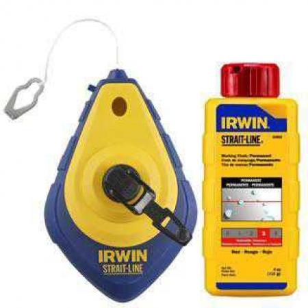 Giz De Linha Abs Vermelho 300Grs Irwin Ref.64495
