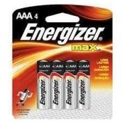 Pilha Palito Alcalina Aaa4 Energizer Max