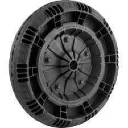 """Roda Flex Pneu Completo Diam. 1"""" C/ Rolamento Fbpneu Ref.100758"""