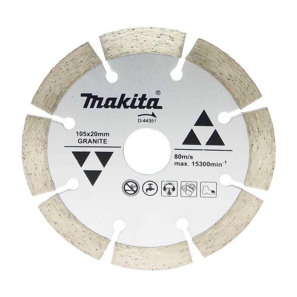 Disco Diamantado Segm. 105X20X8Mm P/Gran-Marm Makita Ref.d-63688