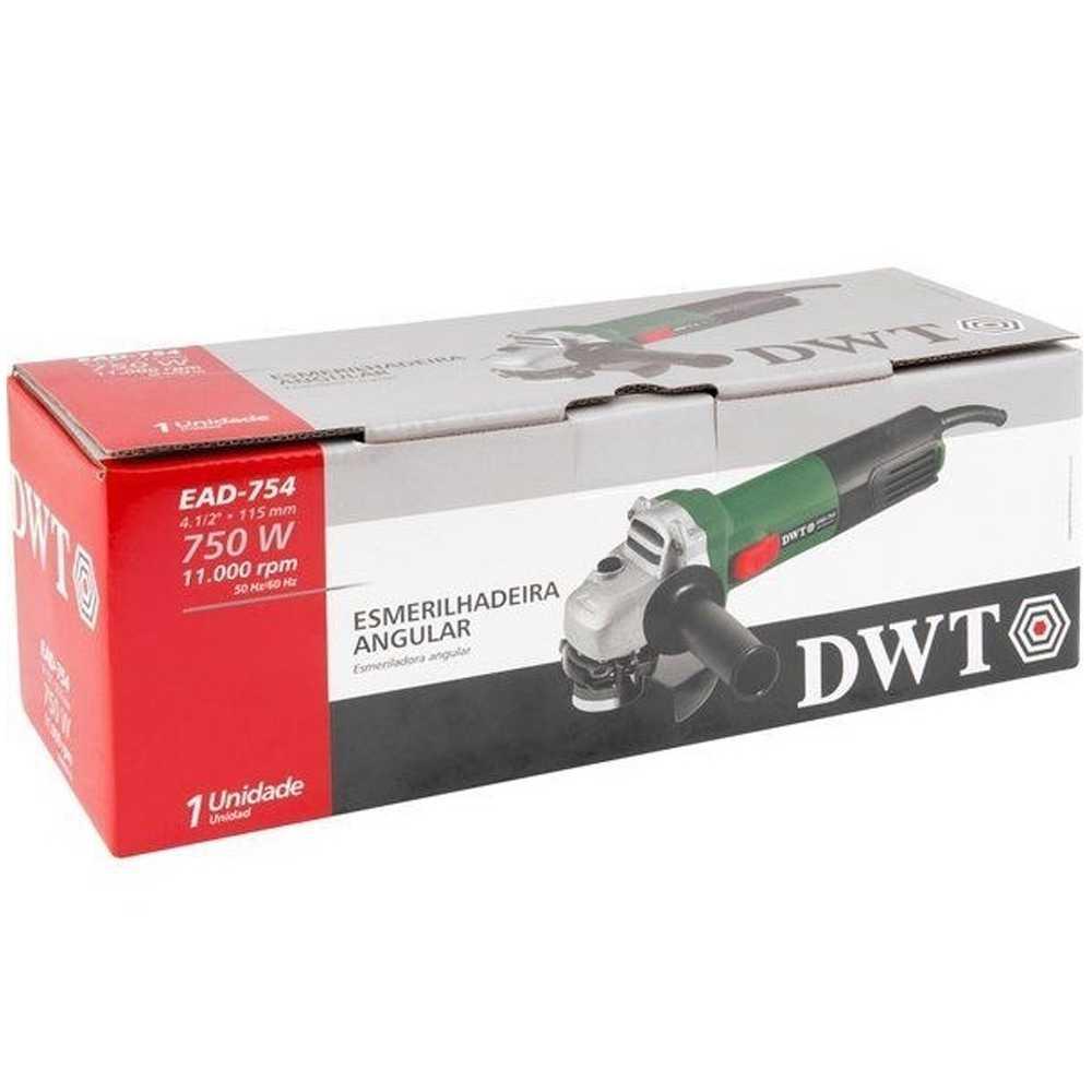 Esmerilhadeira Angular Dwt 4.1/2 750W-127V Ref.ead754
