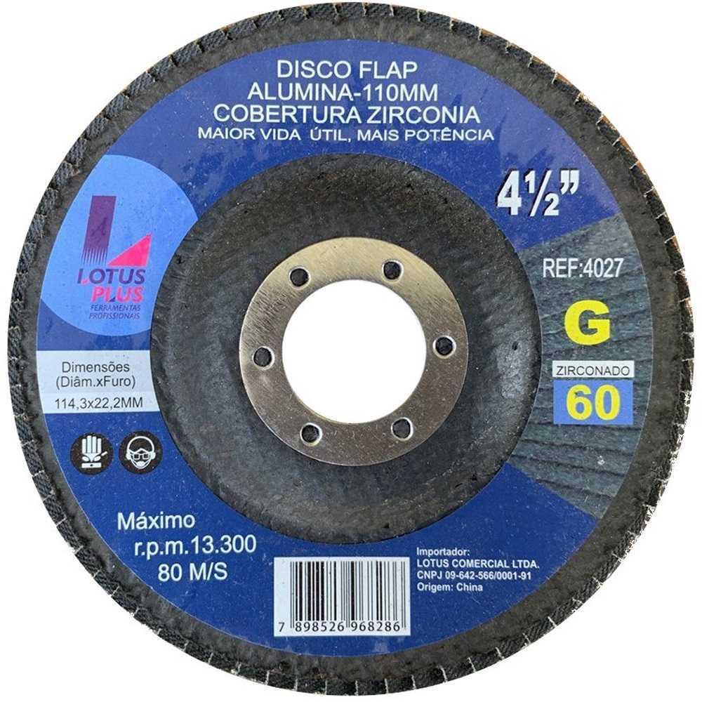 Flap Disco Lotus 4.1/2 Gr60