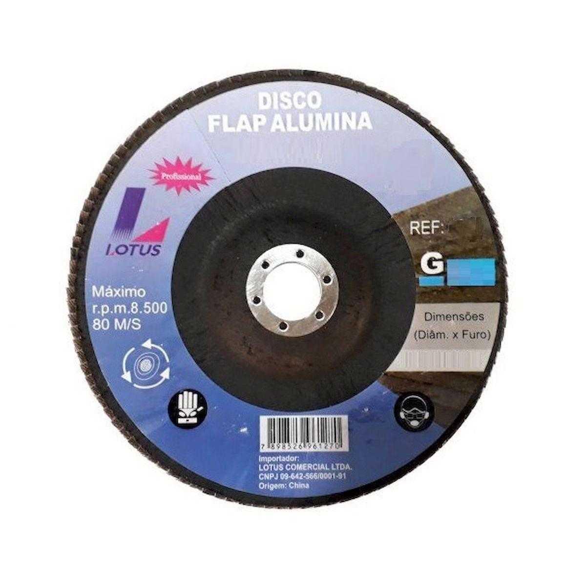 "Flap Disco Lotus 7"" Gr60"