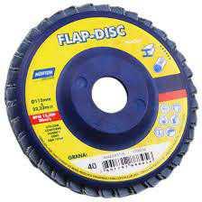"""Flap Disco Norton 7"""" Gr60 (Cx C/ 5 Uni)"""