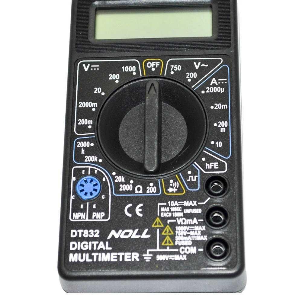 Multimetro Digital Noll Ref.233.0001