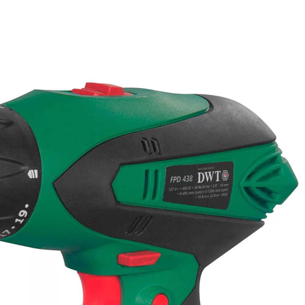 Parafusadeira Dwt Eletrica 400Wx127V Fpd-438
