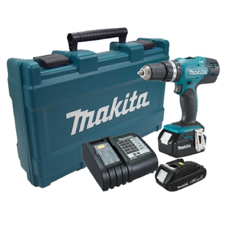 Parafusadeira/Furadeira  Impacto 1/2-18V Bateria 2.0Ah Dhp453X10 Makita