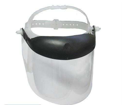 """Protetor Facial De Acrilico Cristal 8"""" 200Mm"""