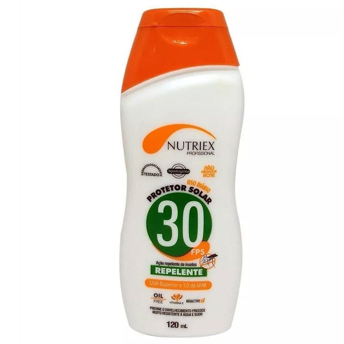 Protetor Solar Nutriex Fps 30 C/Repelente