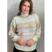 Blusa de tricot colors gola alta