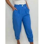 Calça Cenoura Azul