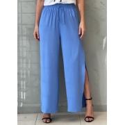Calça Pantalona Azul Turquesa