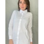 Camisa Branca em Algodão