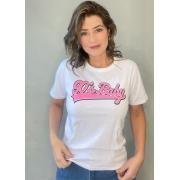 Camiseta de Algodão 90's Baby
