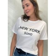 Camiseta de Algodão New York SOHO