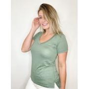 Camiseta Podrinha Verde Claro