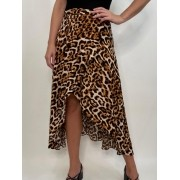 Saia Envelope Animal Print