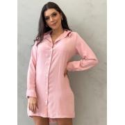 Vestido Chemise Rosa Margarida