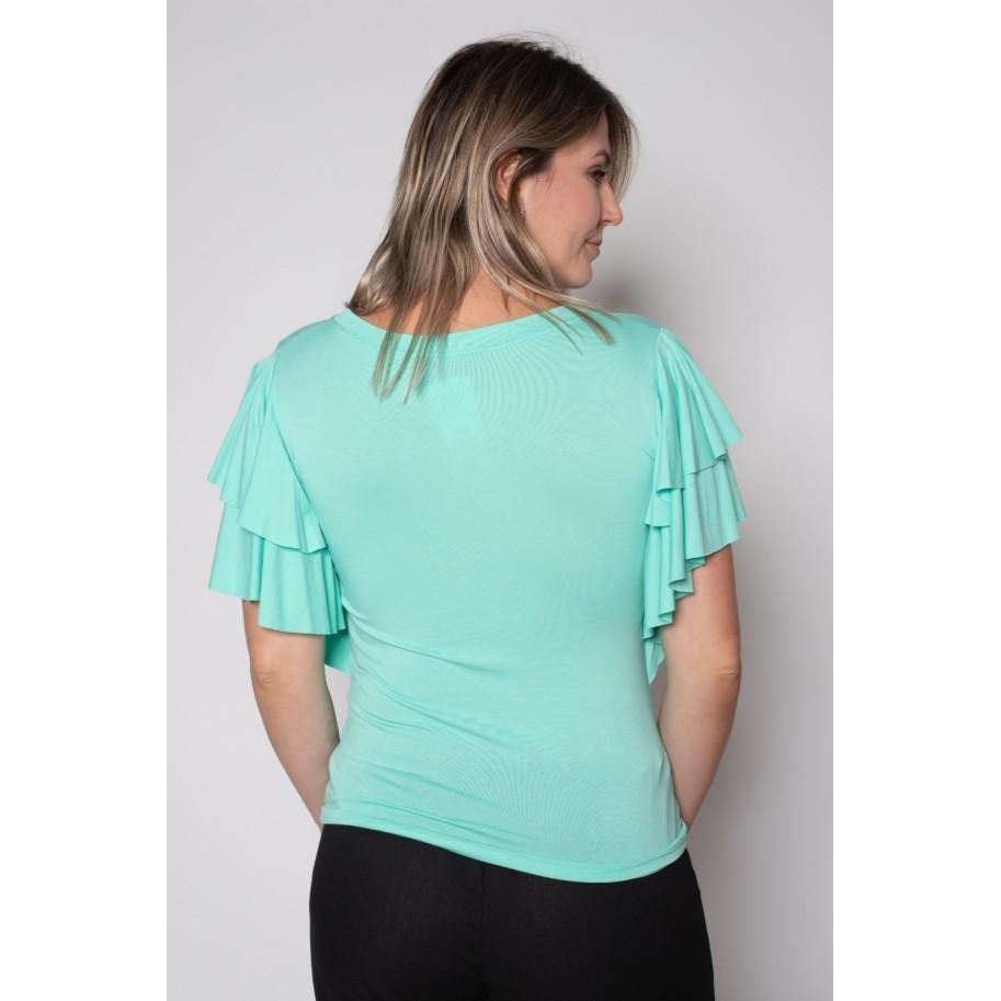Blusa de Malha Verde