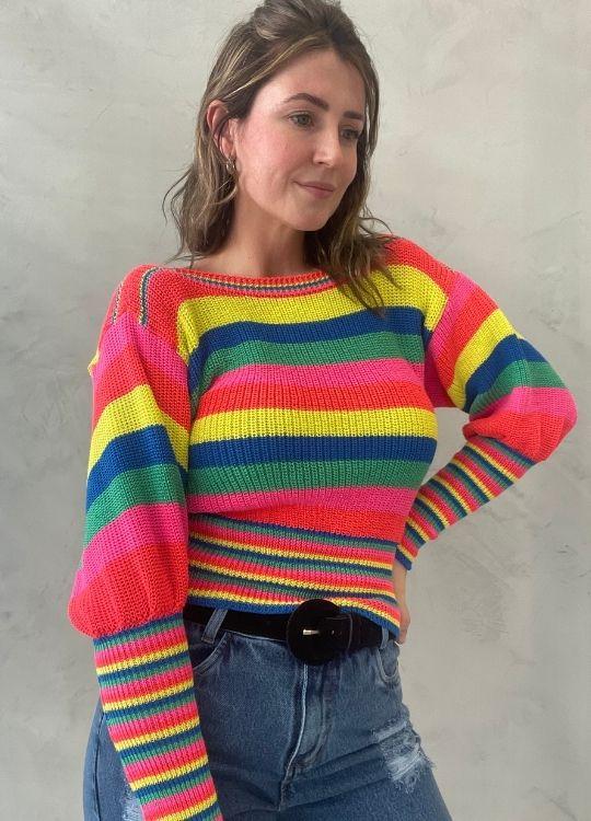 Blusa de Tricot colors