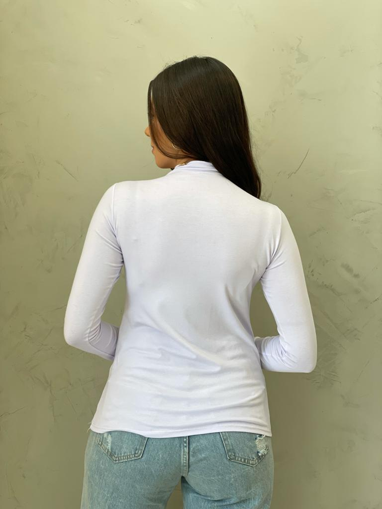 Blusa Segunda Pele Branca