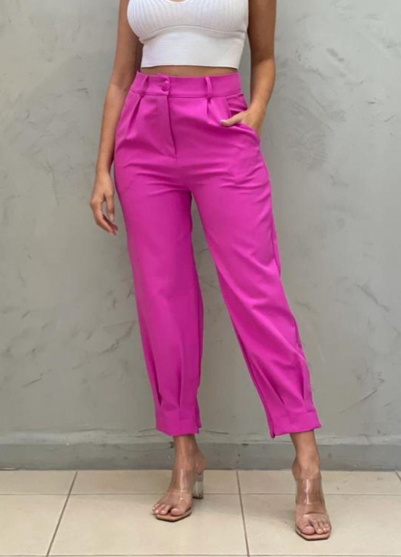Calça Cenoura pink